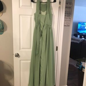 Dusty sage bridesmaid dress from amazon